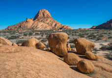 Spitzkoppe, unique rock formation in Damaraland, Namibia. Africa royalty free stock photo