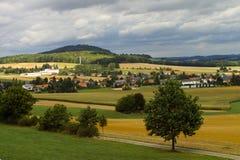 Spitzkunnersdorf Obrazy Royalty Free