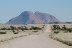 Spitzkuppe. The  Spitskuppe  is  a  well known   landmark  in  Namibia. Situated  between   Usakos   and  Swakopmund Royalty Free Stock Photography