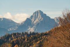 Spitzmauer mountain Royalty Free Stock Image