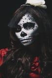 spöklik flicka Arkivfoton
