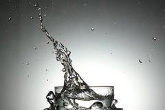 Splah dell'acqua Fotografia Stock Libera da Diritti