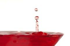 Splash. Drop of liquid; liquid splash Royalty Free Stock Photo