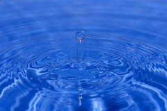 Splash!. Water drop making a splash Stock Images