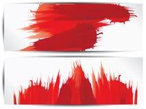 Splash on abstract background stock illustration