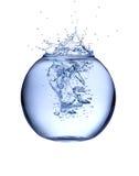 SPlash from aquarium Royalty Free Stock Images