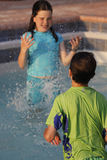 Splash Attack Stock Photo
