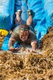 Splash away in the slide Royalty Free Stock Image