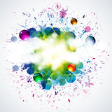 Splash background. Illustration for your design Royalty Free Stock Image