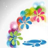 Splash background Stock Photography