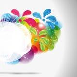 Splash background Royalty Free Stock Image