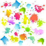 Splash background Stock Photo