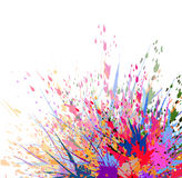 Splash Background-vector Royalty Free Stock Photography