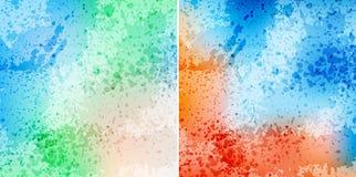 Splash backgrounds Stock Image