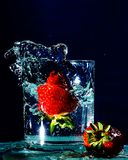 Splash A Berry Splash stock photos