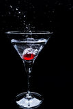 Splash cocktail Royalty Free Stock Photo
