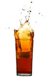 Splash of cola Stock Images