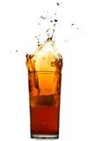 Splash of cola Stock Images