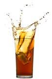 Splash of cola royalty free stock photos