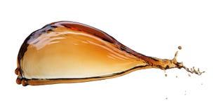Splash of cola stock photo