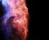 Splash of colored powder Royalty Free Stock Photos