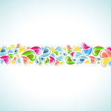 Splash colorful background Stock Photography