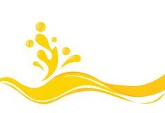 Splash   design-splash  Royalty Free Stock Images