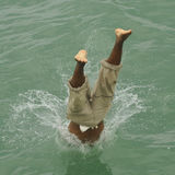 Splash Diving Stock Photos