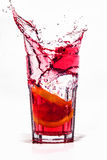 Splash drink Royalty Free Stock Photos