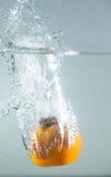 Splash fruit Royalty Free Stock Image