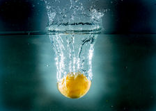 Splash fruit Royalty Free Stock Images