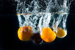 Splash fruit Royalty Free Stock Photo