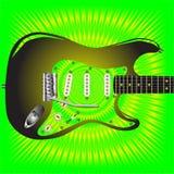 Splash Guitar Royalty Free Stock Image