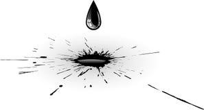 Splash ink Royalty Free Stock Photo