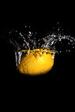 Splash of Lemon Stock Photo