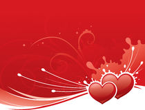 Splash of Love Royalty Free Stock Photos
