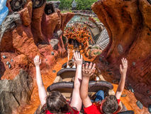 Splash Mountain Royalty Free Stock Photography