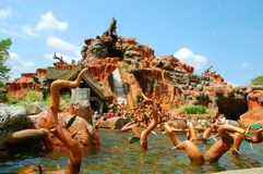Splash Mountain Stock Photos