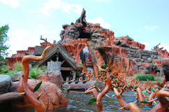 Splash Mountain Royalty Free Stock Photos