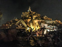 Splash Mountain, Orlando, Florida Royalty Free Stock Photos
