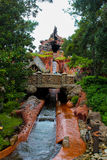 Splash Mountain, Walt Disney World, Orlando, Florida. Stock Photos