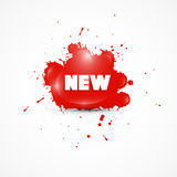 Splash With New Title Royalty Free Stock Images