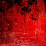 Splash On Red Paint Background Stock Photos