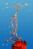 Splash of orange juice. Stock Images