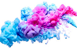 Splash of paint Royalty Free Stock Image