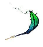 Splash of paint Royalty Free Stock Photography