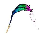 Splash of paint Stock Photography
