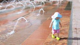 Splash park stock video footage