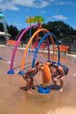 Splash Park Stock Photography
