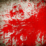 Splash of red paint Stock Photo